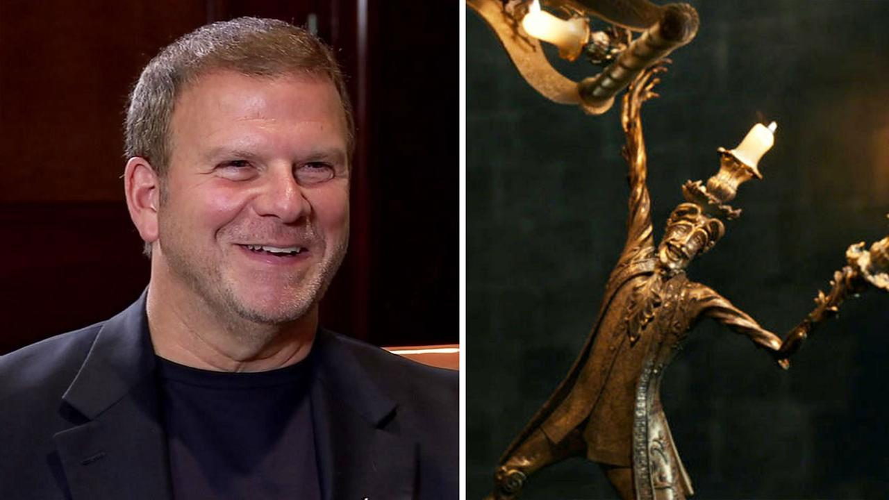 Landrys CEO Tilman Fertitta as LumiereDisney