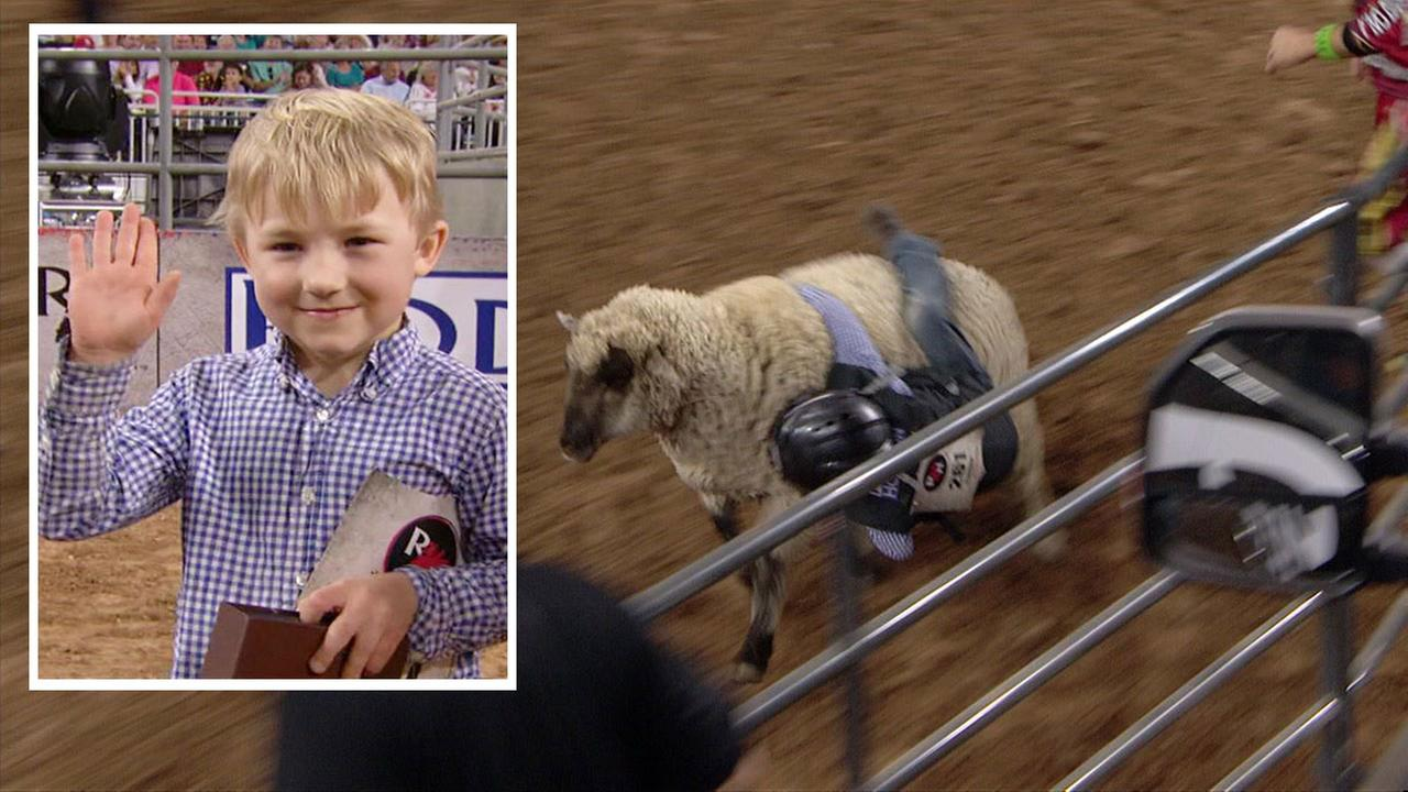 Ridge Flundra - Mutton Bustin champion