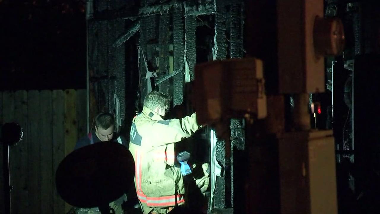 EXCLUSIVE: Father rescues son from house fire