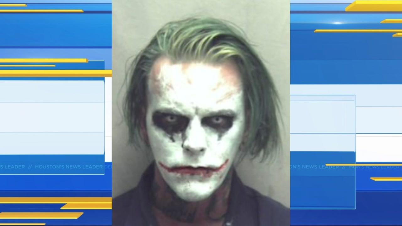 Police arrest man dressed as the Joker