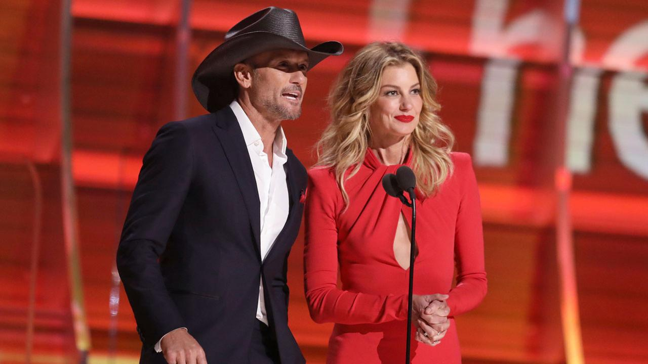 Tim McGraw and Faith HillPhoto by Matt Sayles/Invision/AP