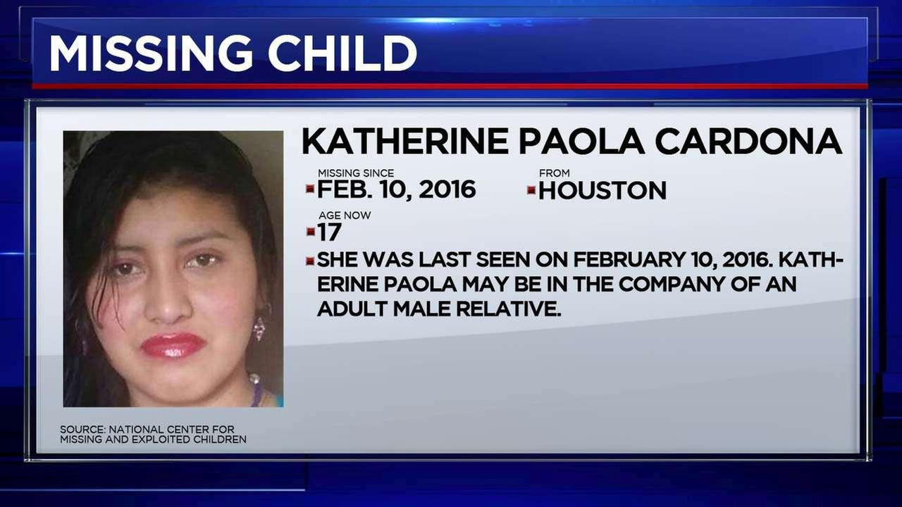 Reports show 42 children from the Houston area are considered missing, according to the National Center for Missing and Exploited Children.