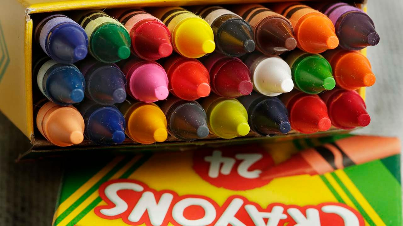 crayola to retire crayon for 1st time ever