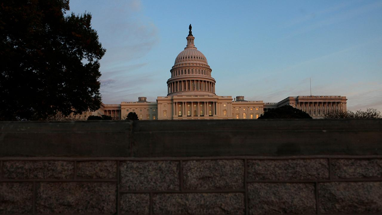 A view of the Capitol building in Washington. (AP Photo/Evan Vucci)