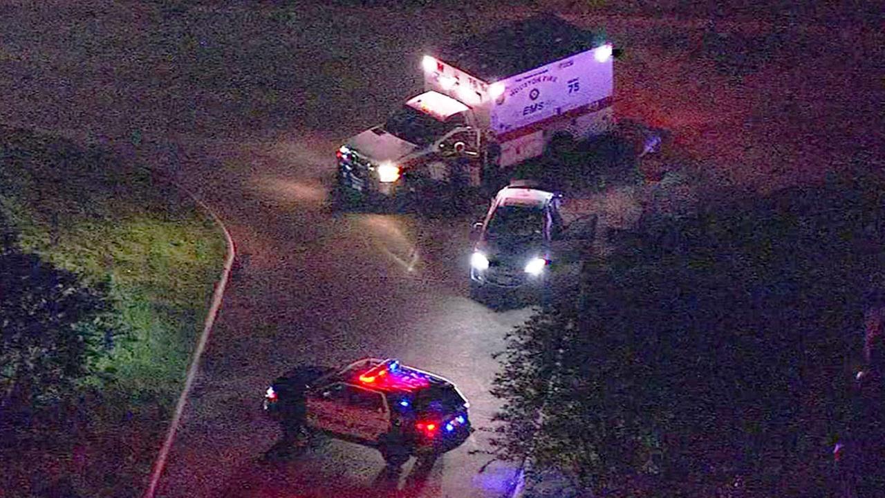 Westpark officer involved crash