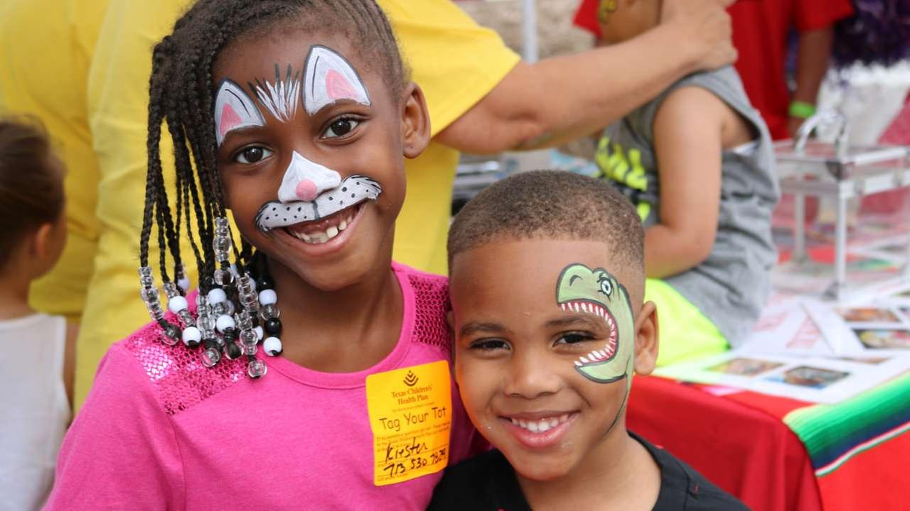 Families and spectators enjoy Houstons Childrens Festival.