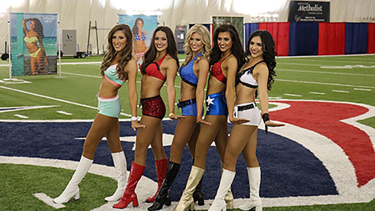 cheerleading PHOTOS: Houston Texans cheerleader tryouts 2017
