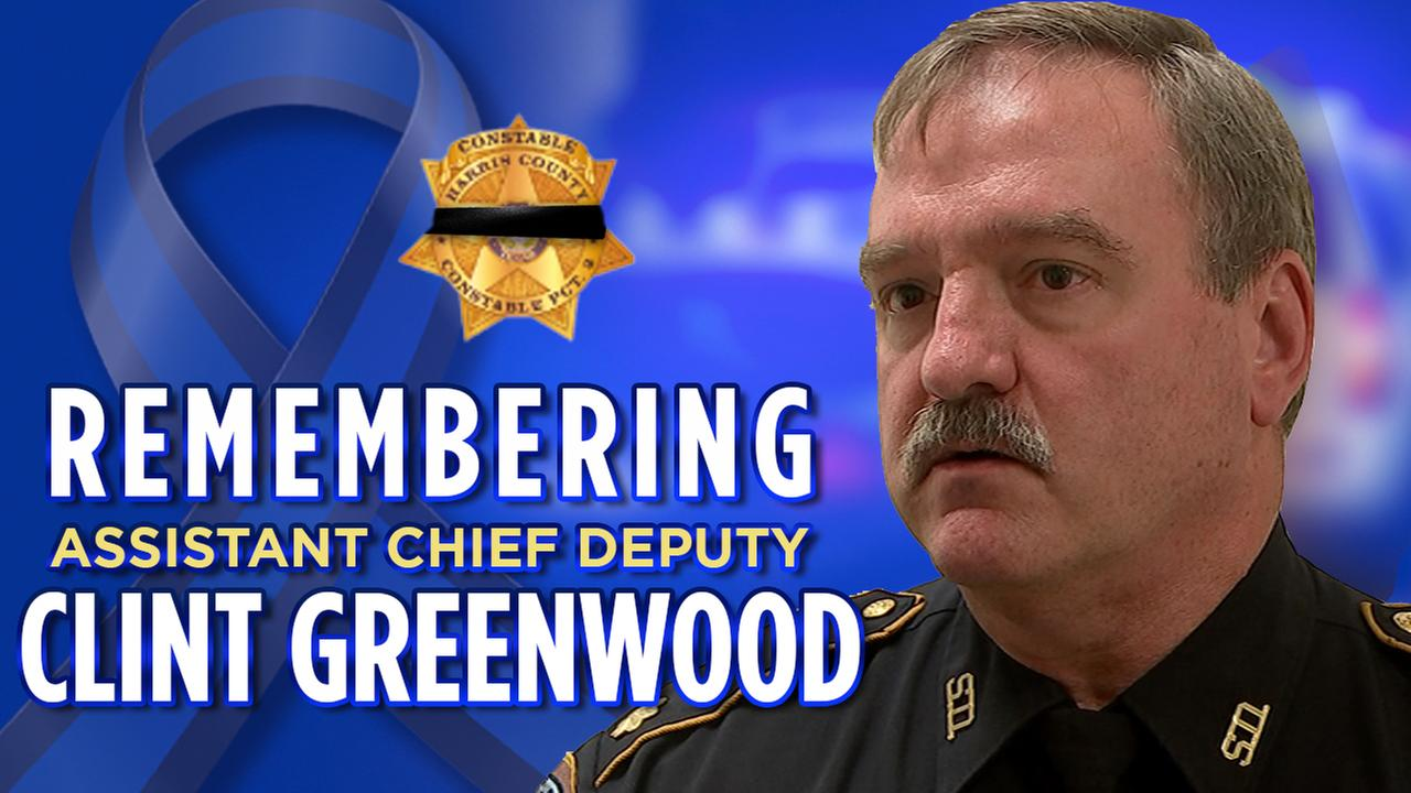 Officials say Pct. 3 Asst. Deputy Constable Clint Greenwood was on his way to work when he was shot.