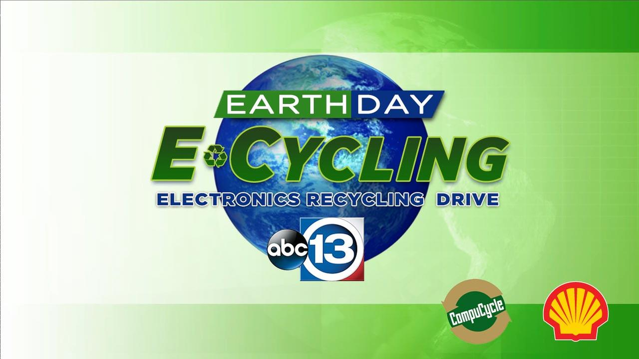 ABC13 Earth Day E-cycling Drive