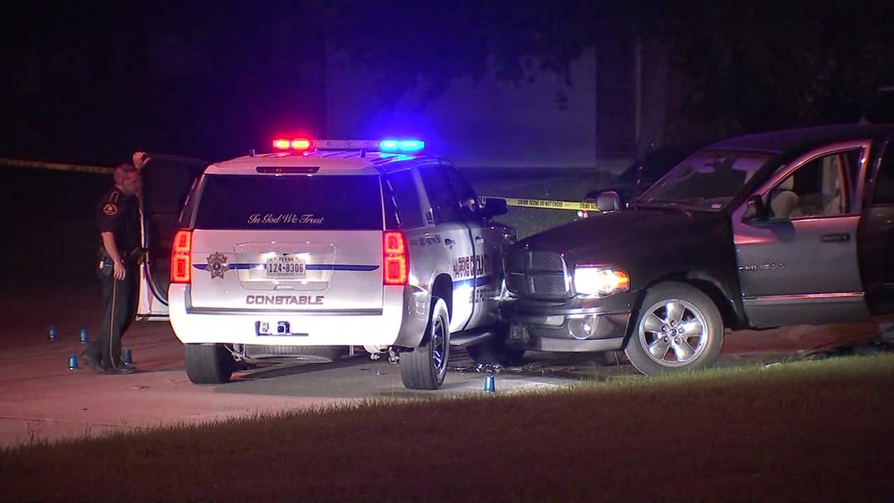 Deputy constable-involved shooting on Stonefield Manor
