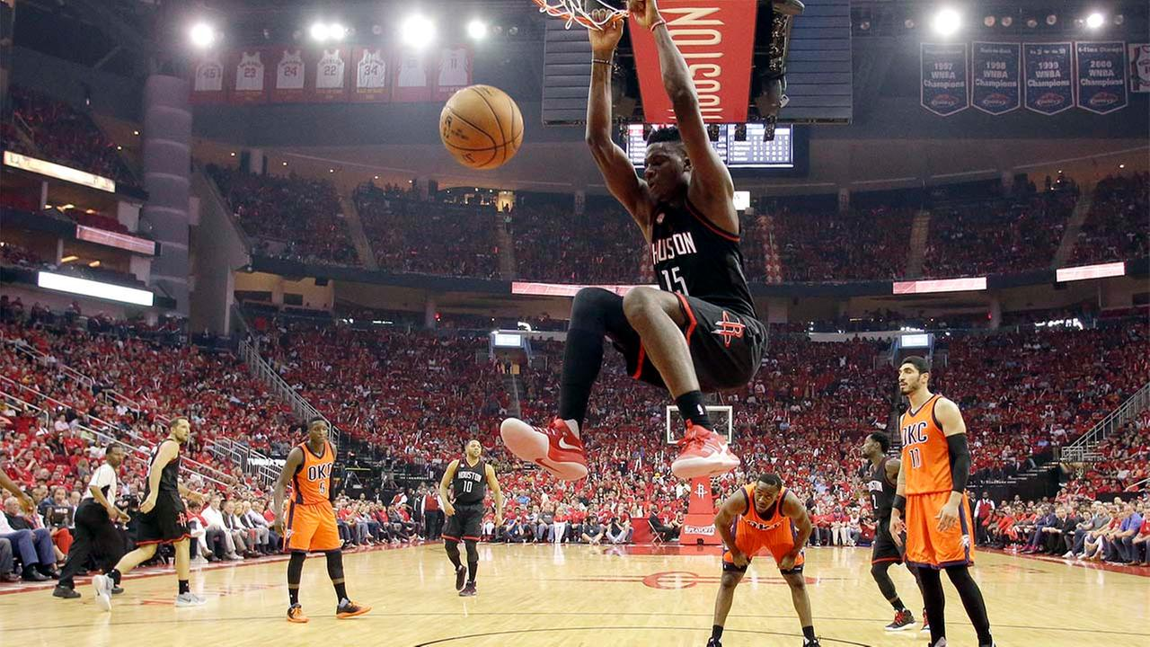 Rockets Blast Thunder in Game One