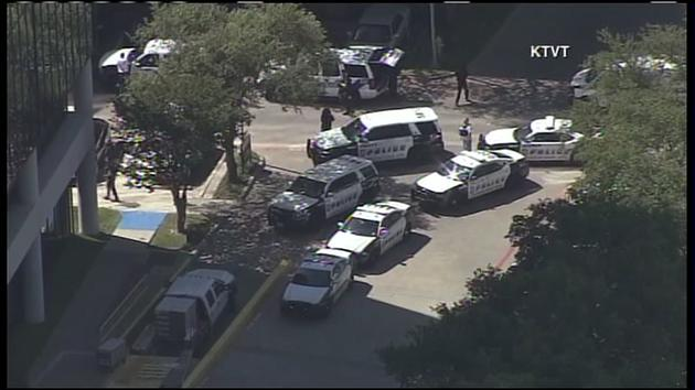 Dallas police are responding to a possible active shooter situation at an office building