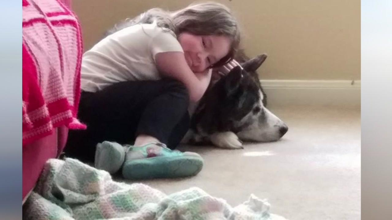 Families share photos for National Kids and Pets Day