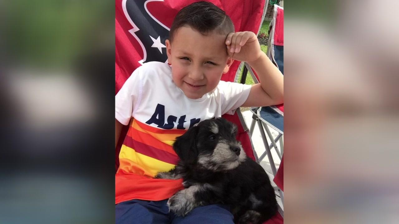 Families share photos on National Kids and Pets Day