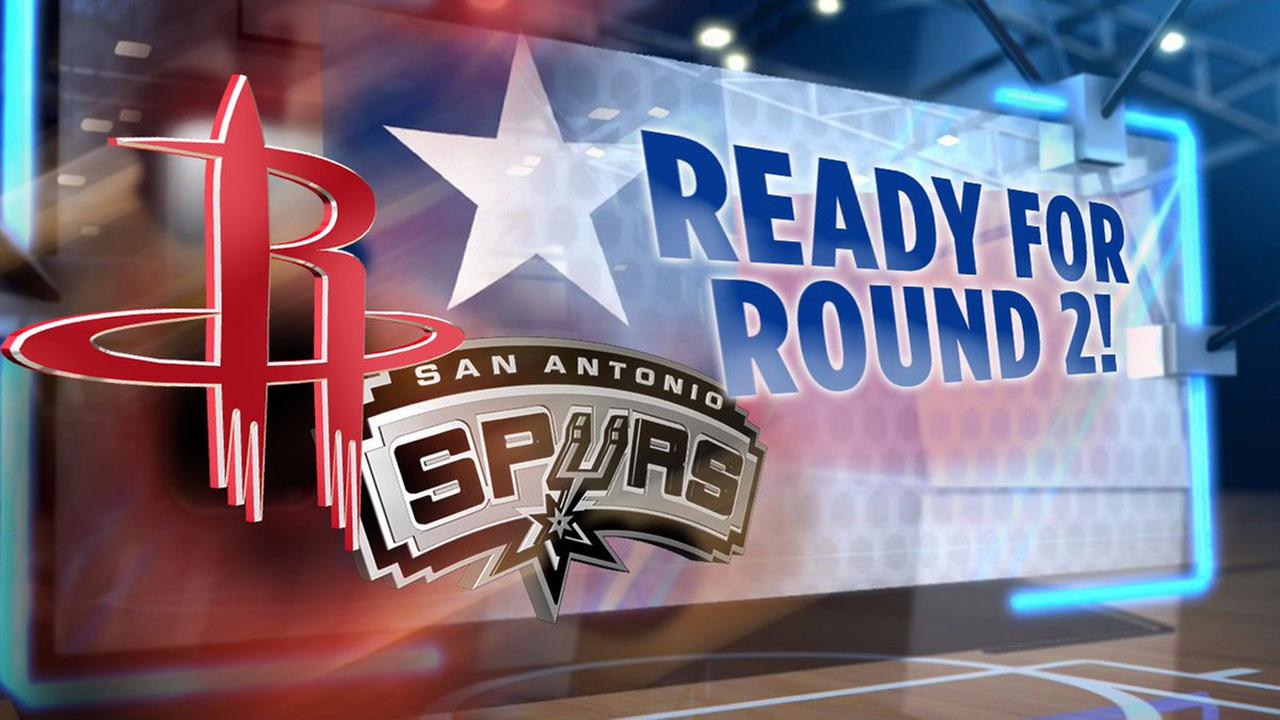 Rockets - Spurs Western Conference Semifinals 2017