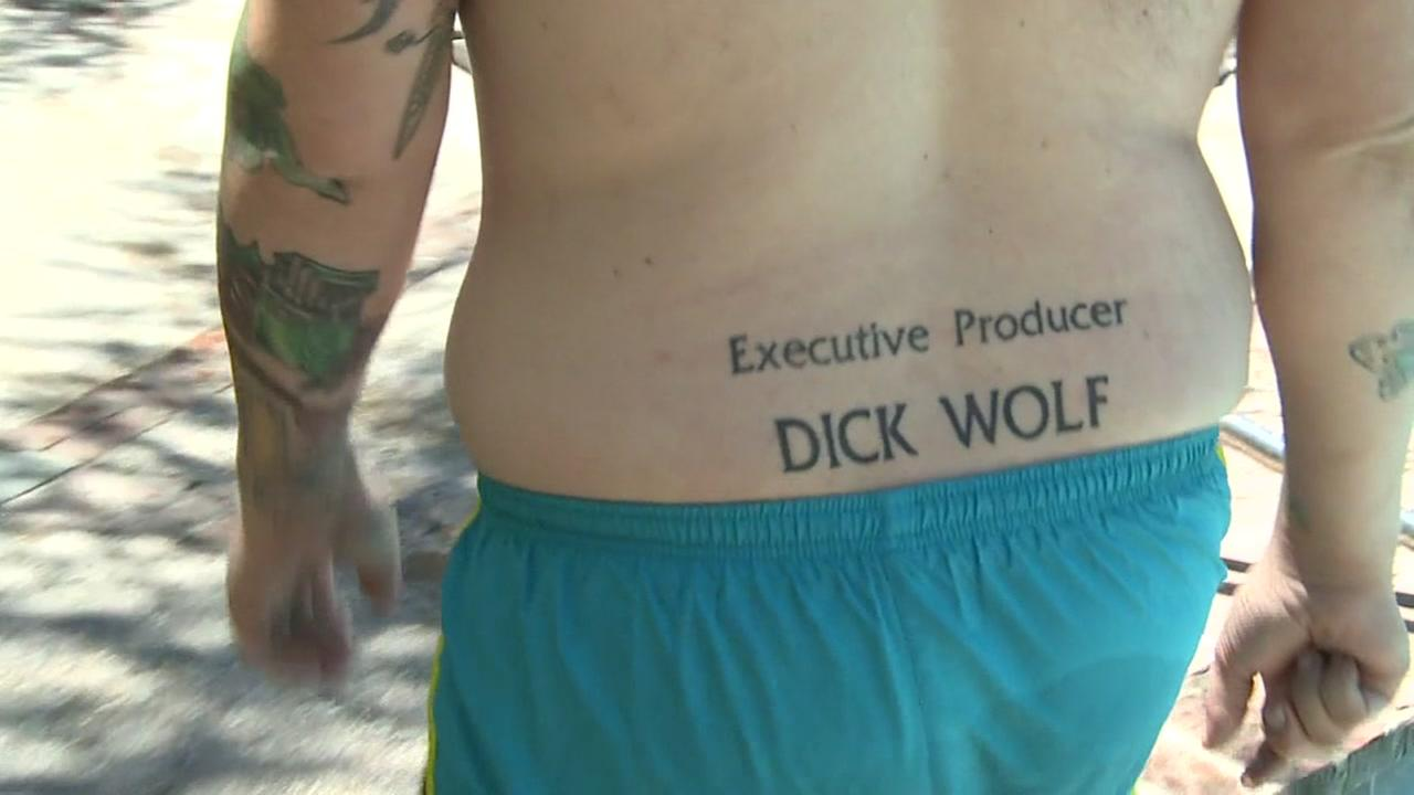 dick wolf tattoo