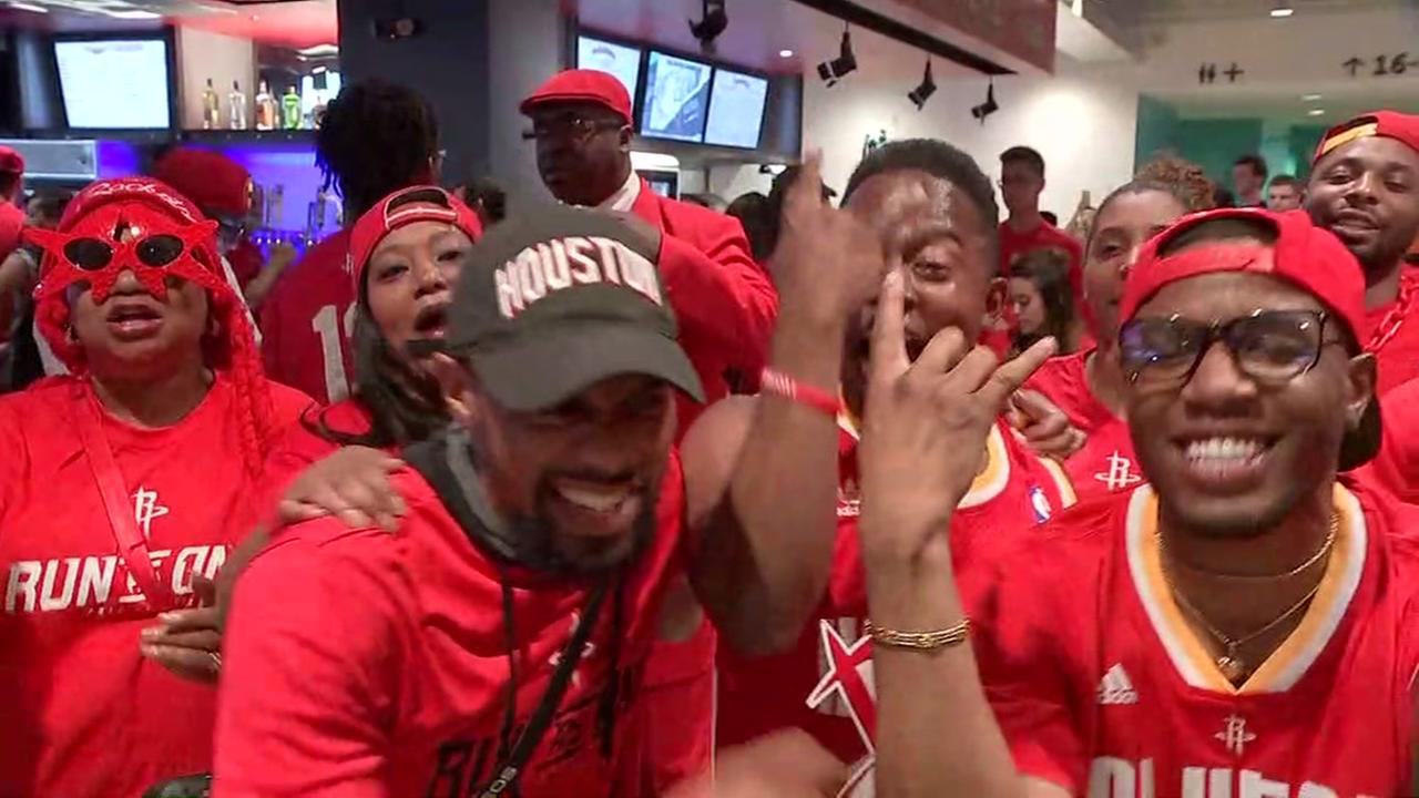 Red Nation fans turn out for Game 2 as the Rockets take on the Spurs in San Antonio, Wednesday, May 3, 2017.