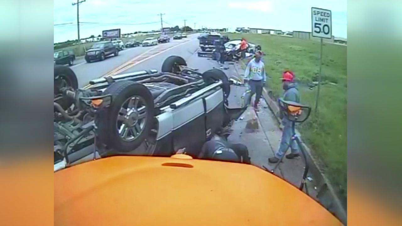 Oklahoma school bus crash