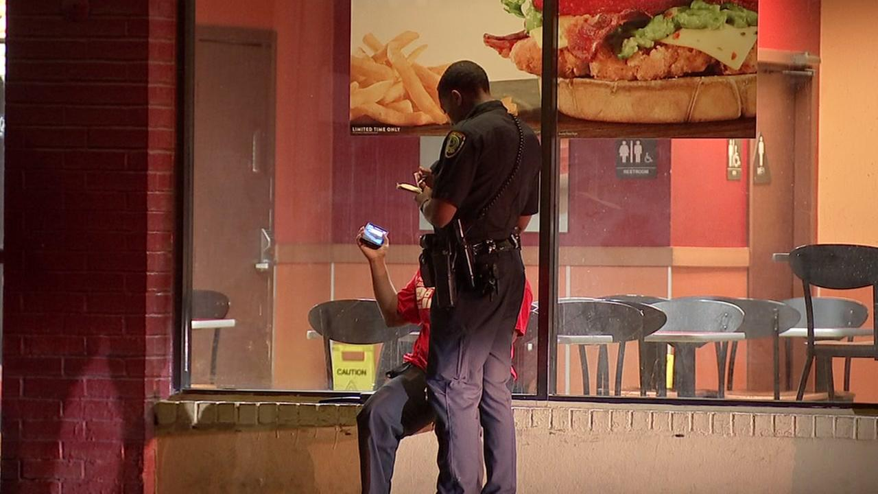 Jack in the Box robbery in Heights