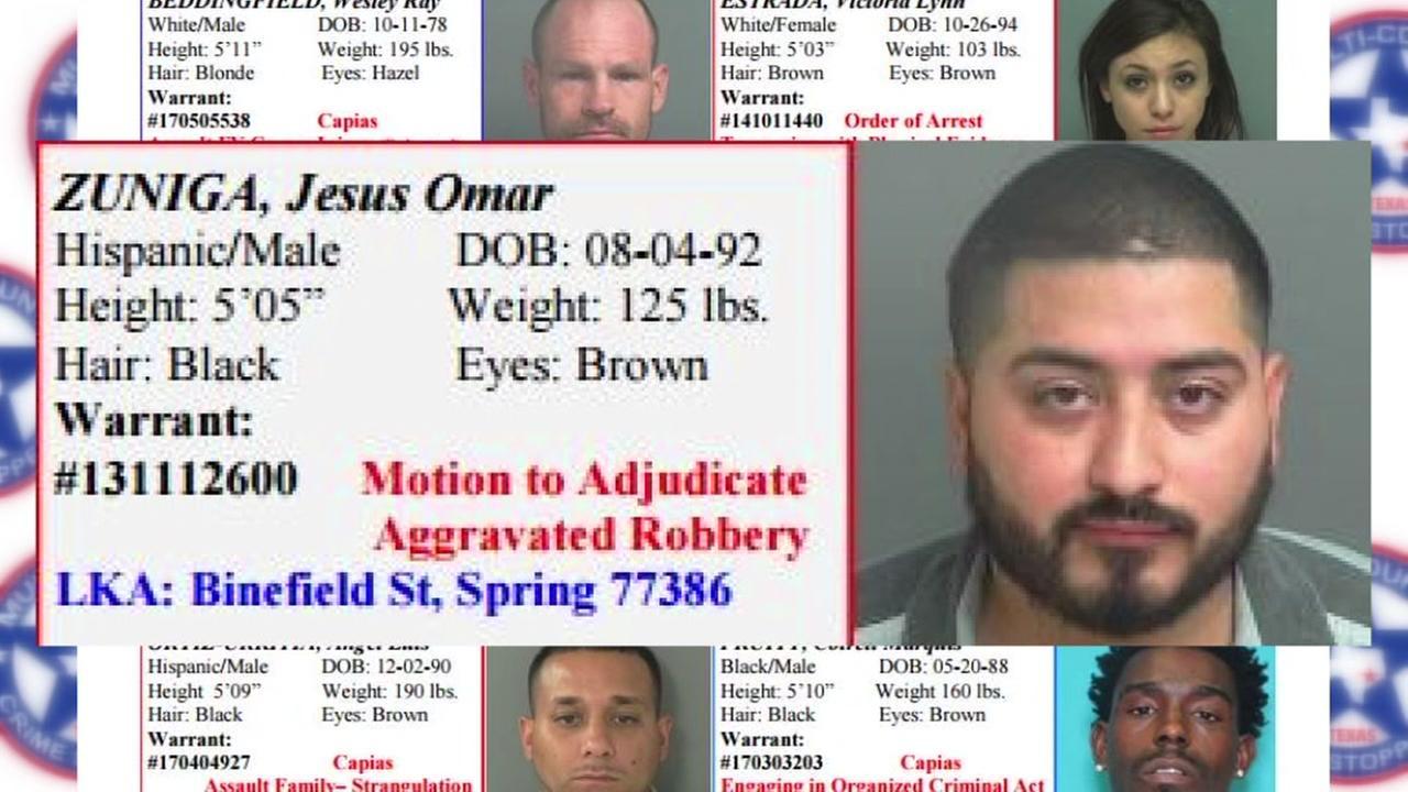 Jesus Omar ZunigaMulti-County Crime Stoppers