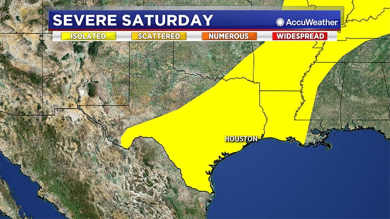 Tracking the possibility for severe weather this weekend.