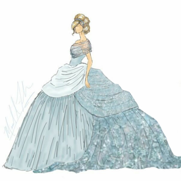 Chicago designer unveils sketches for new Disney princess ...