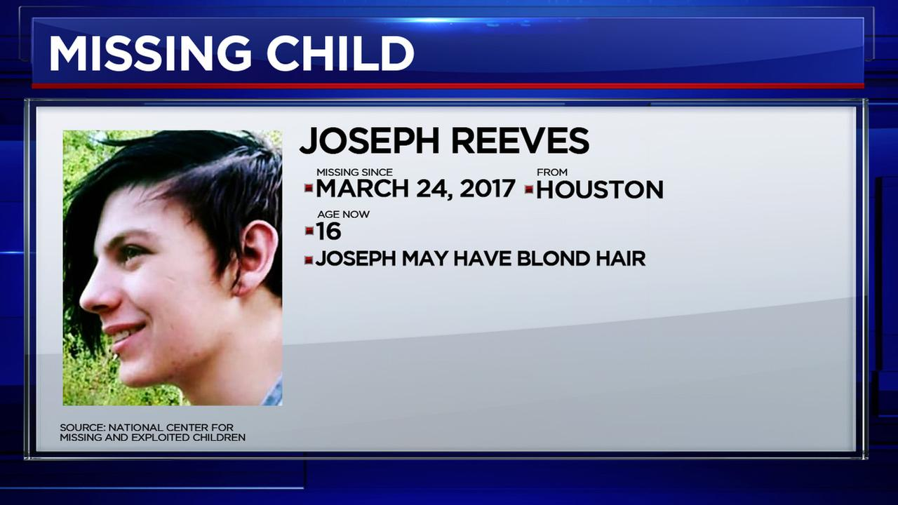 These are the children who have gone missing in Houston in 2017.National Center for Missing and Exploited Children