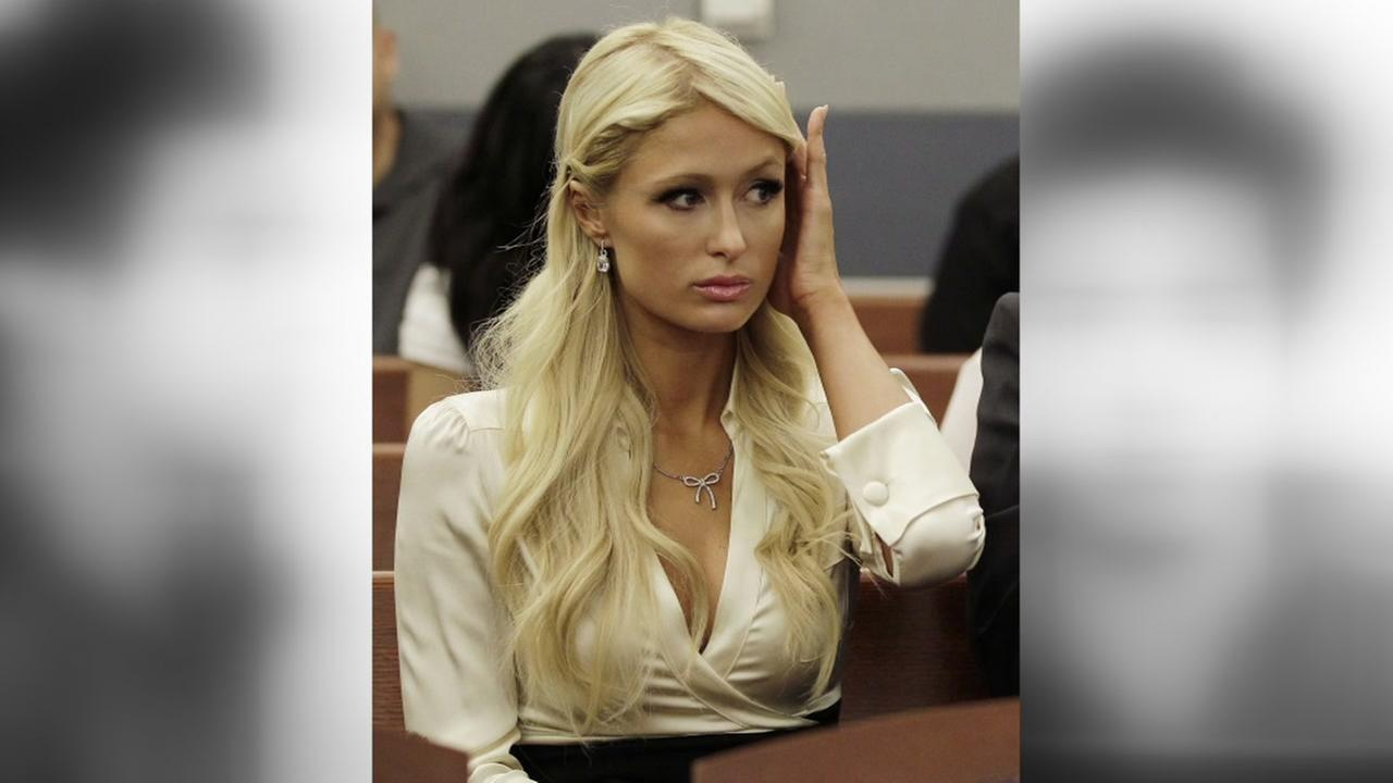 Paris Hilton waits for her hearing to start in Clark county court Sept. 20, 2010 in Las Vegas. Hilton pleaded guilty to two misdemeanor charges stemming from her arrest.