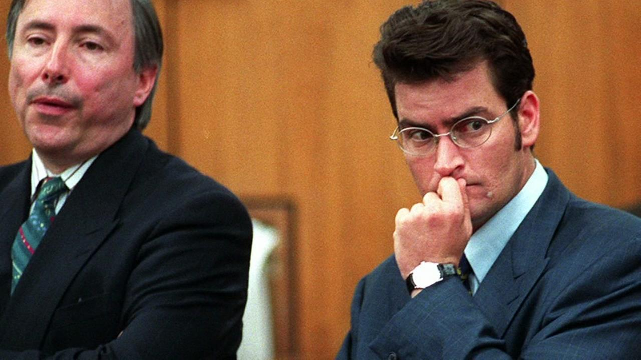 Charlie Sheen pleaded no contest to misdemeanor battery against his former girlfriend Brittany Ashland on June 6, 1997.