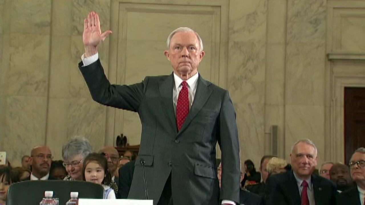 AG Sessions appears before Senate intelligence committee