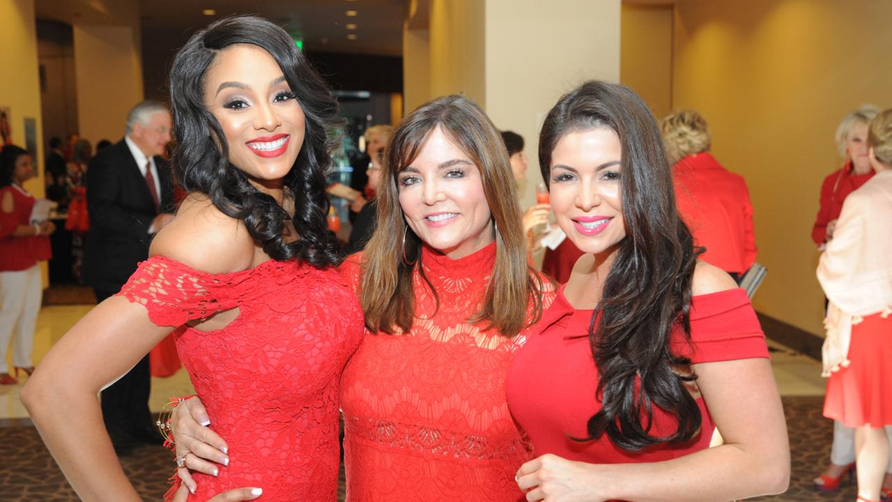 ABC13 anchors Goes Red for Women