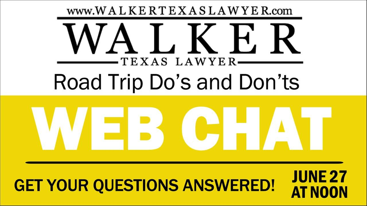 CHAT Q&A: Road Trip Do's and Dont's