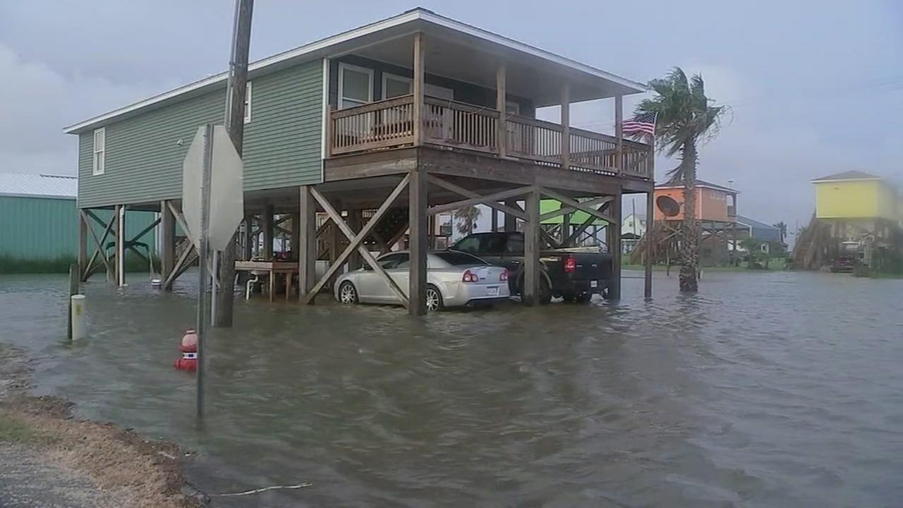 Residents of Cameron, Louisiana feeling relief after Tropical Storm Cindy.