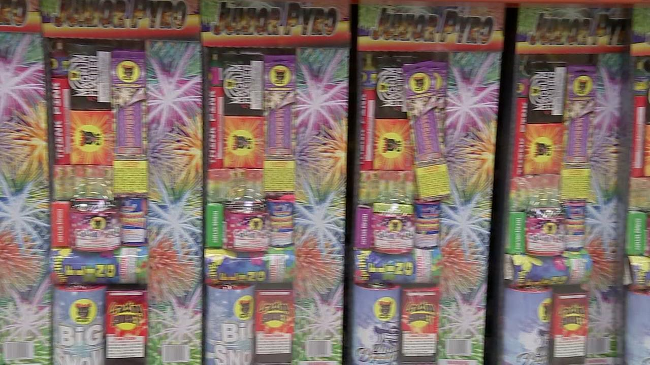 Fireworks now on sale but that doesnt make them legal everywhere.