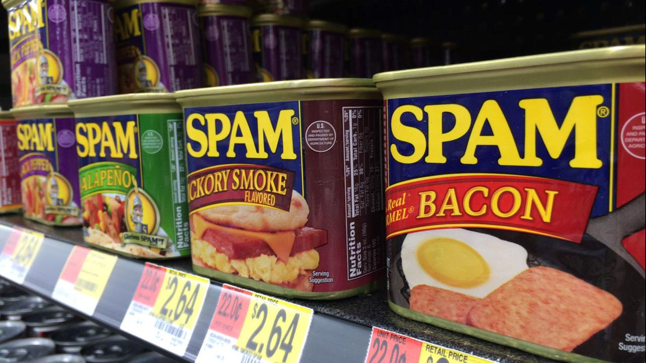 SPAM cans