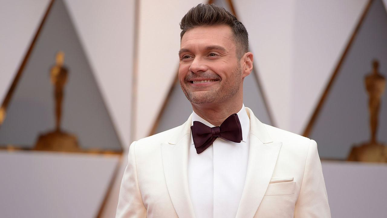 Ryan Seacrest arrives at the Oscars on Sunday, Feb. 26, 2017, at the Dolby Theatre in Los Angeles. (Photo by Jordan Strauss/Invision/AP)