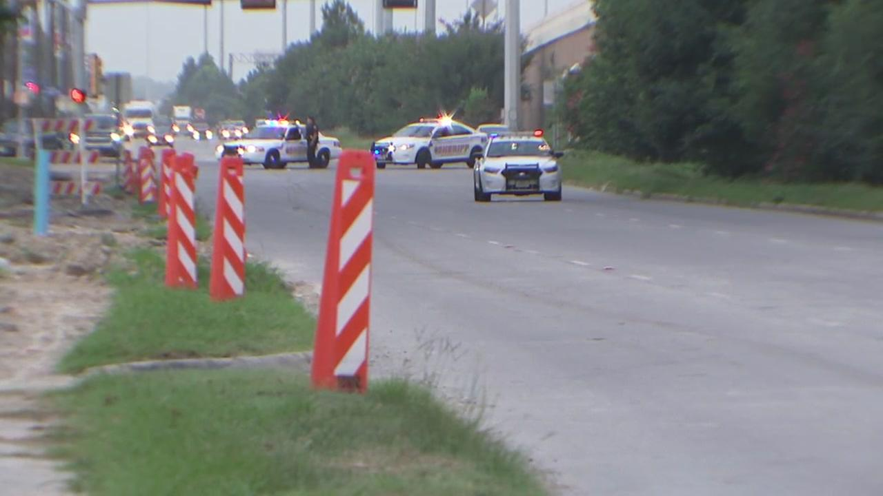Woman dies after being hit and dragged by vehicle in northeast Harris County.