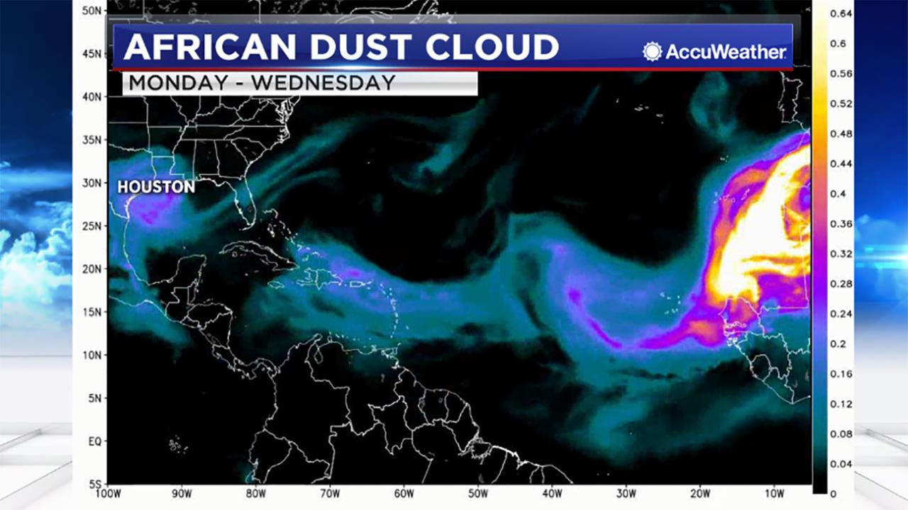 Travis Herzog explains how an African dust cloud can impact your health in Houston.
