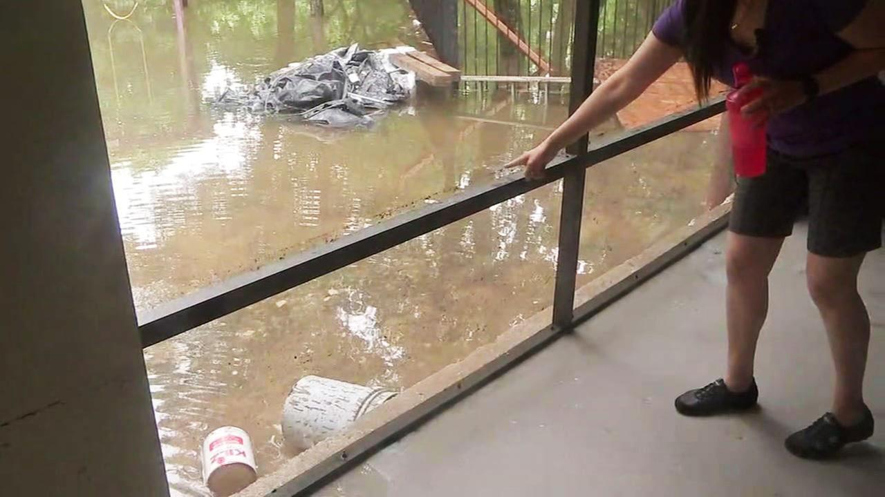 Bramblewood flooding