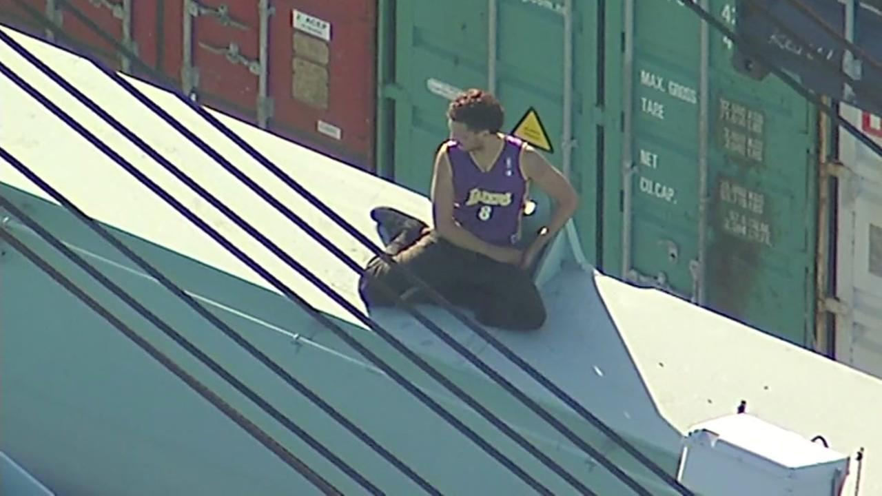 Lakers Chase suspect