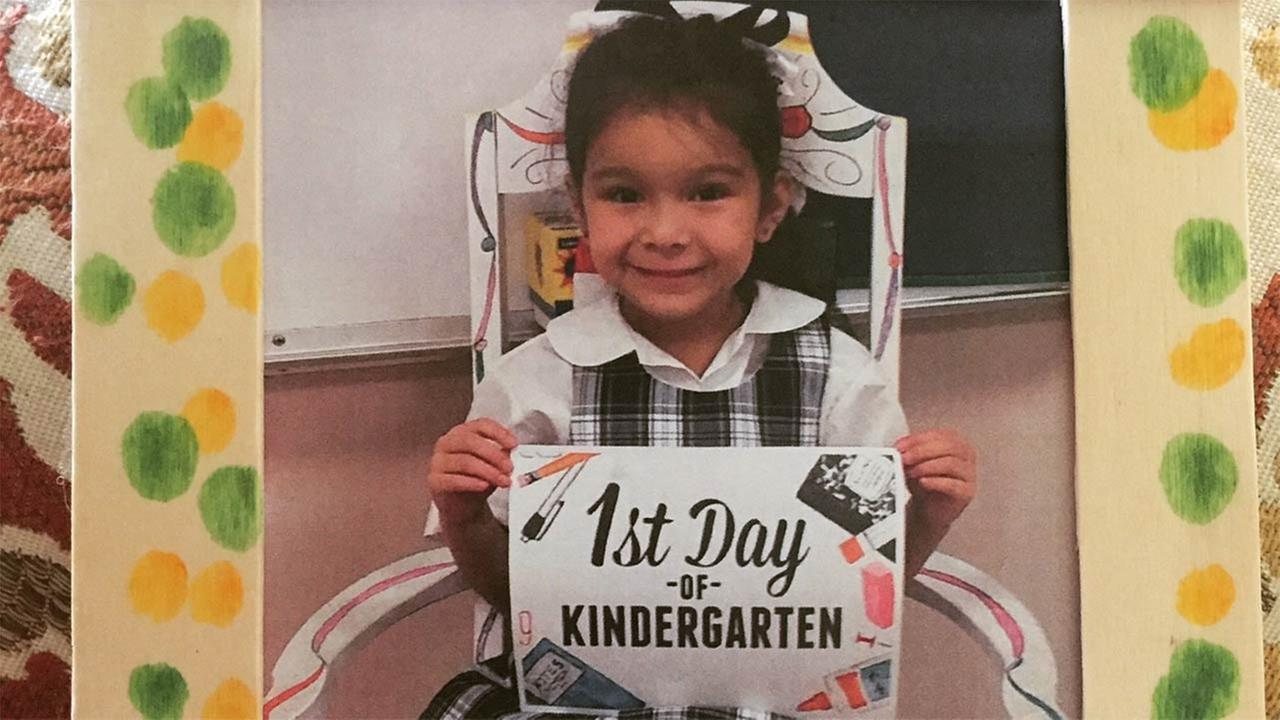 Alexis Acevedo started Kindergarten