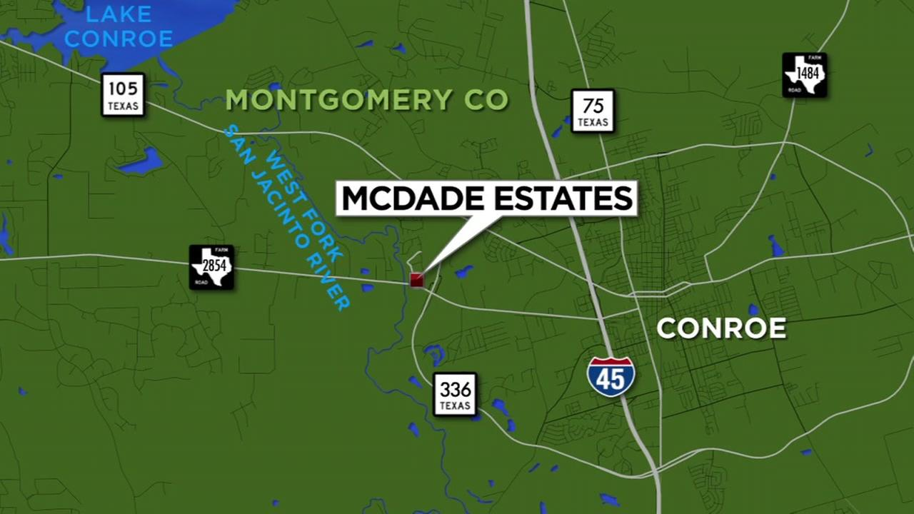 McDade Estates map