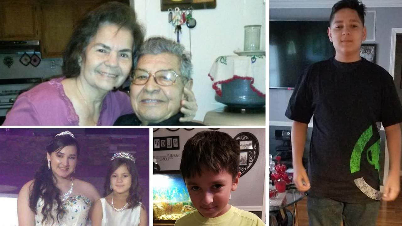 Van With 6 Drowned Family Members Found in Houston