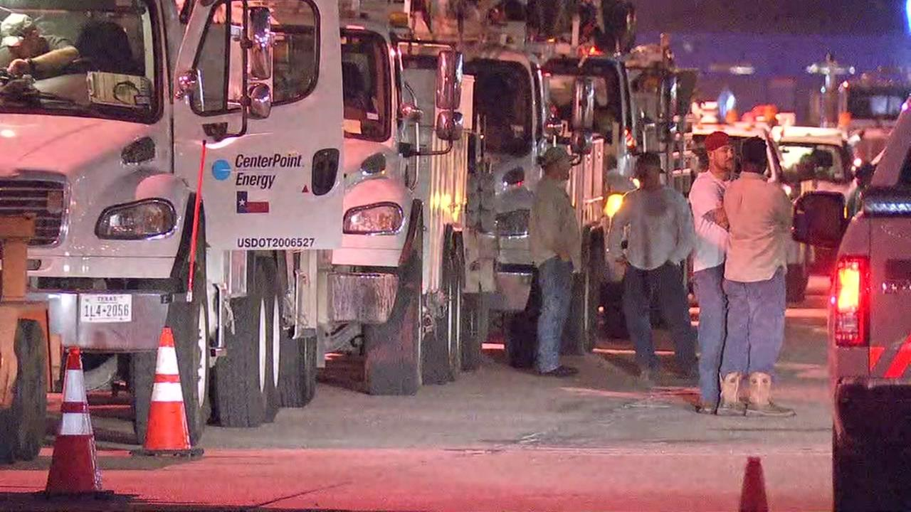 CenterPoint Energy linemen heading to Louisiana to help restore power after Hurricane Nate.