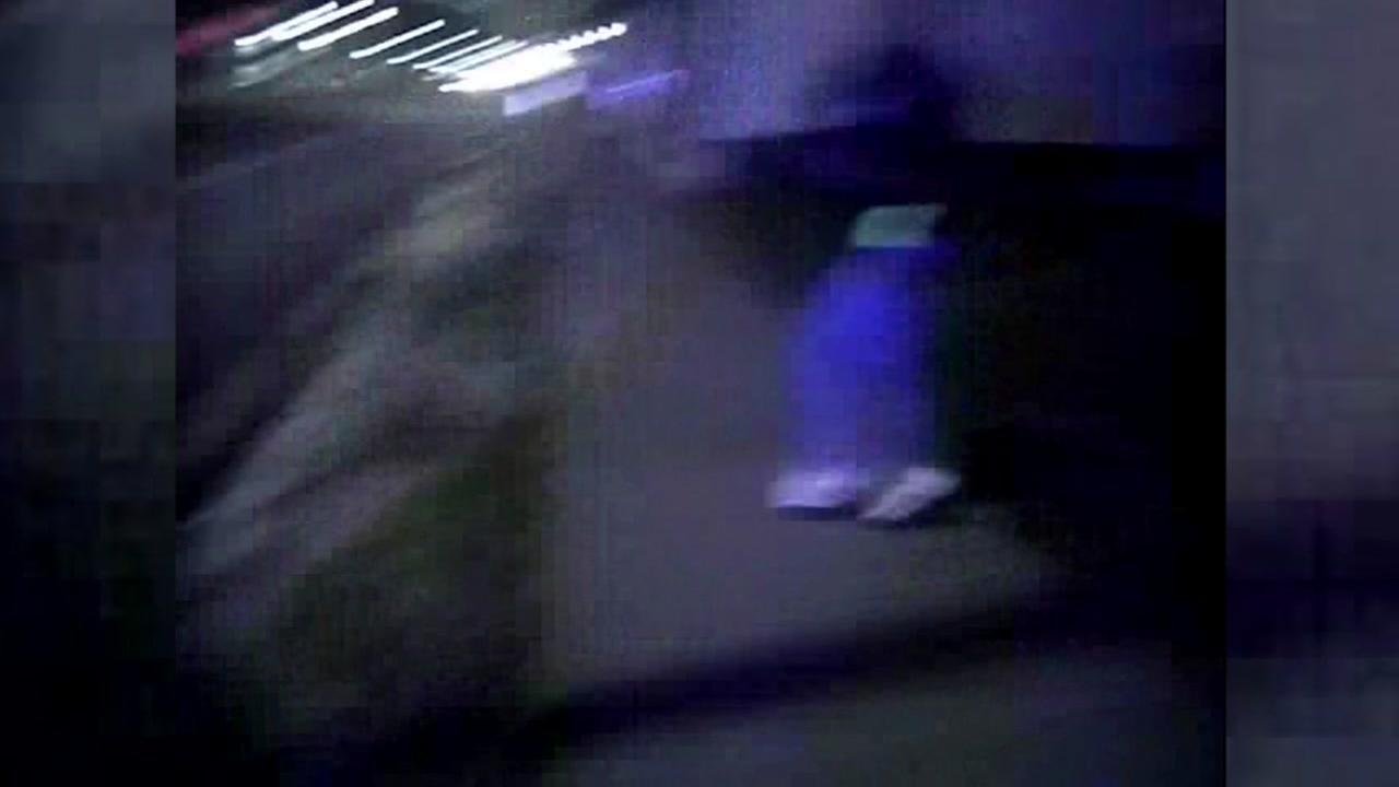 Police body camera shows man running from officers before being shot to death.
