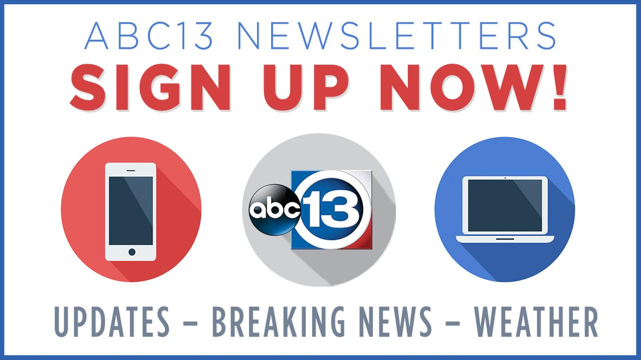 Sign up for free newsletters from ABC13