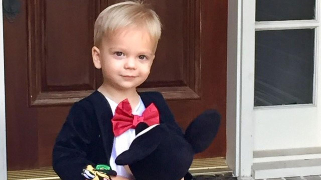 Gray, the son of ABC13s Rebecca Spera, looking dapper as Mickey Mouse!