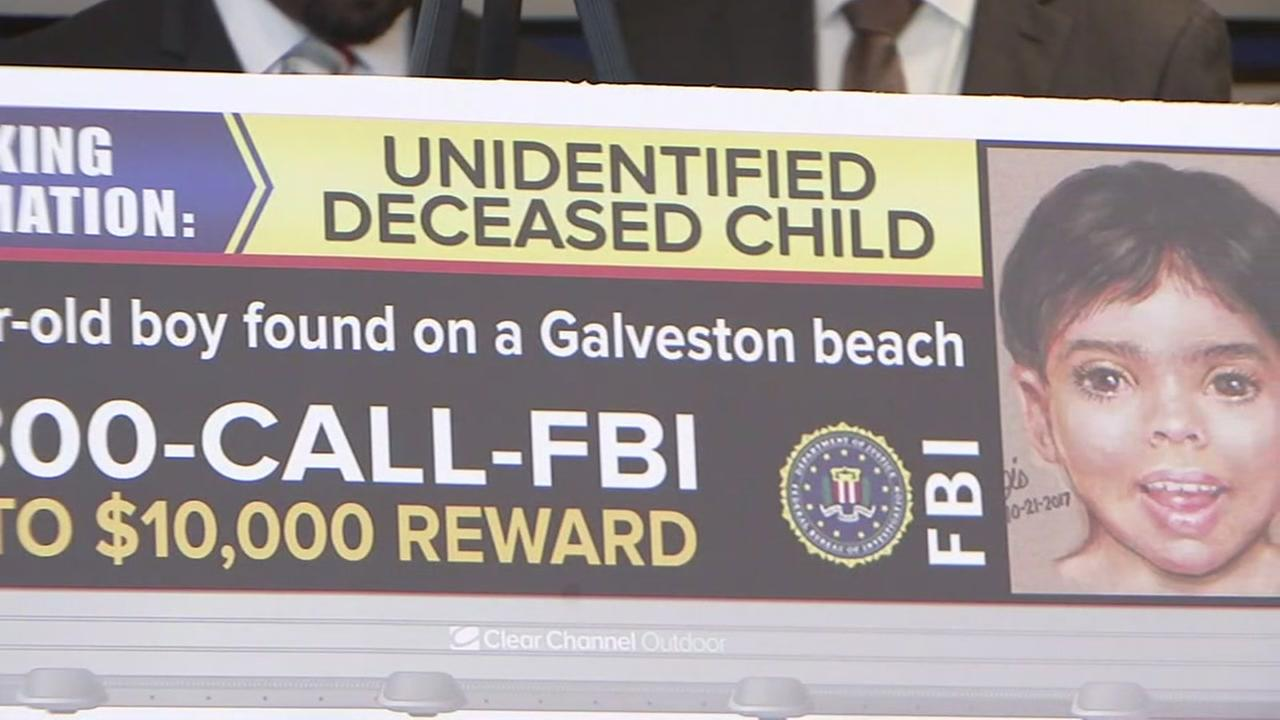 Galveston PD, FBI offering up to $10,000 reward for information about Little Jacob and his family.