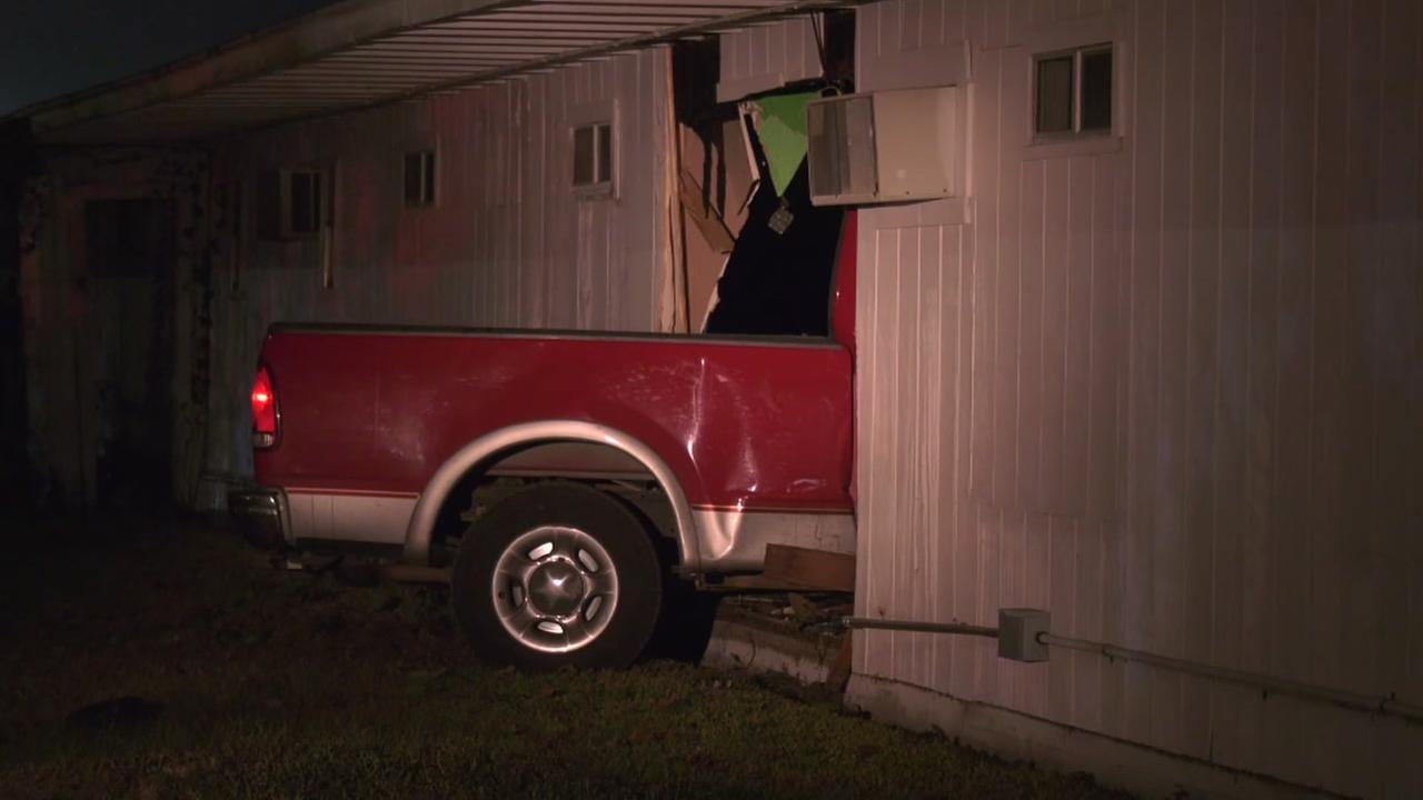 HPD chase ends abruptly when suspects crash into a church in northeast Houston.