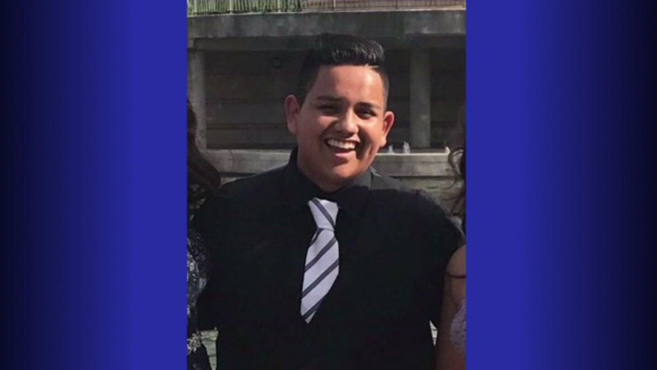 Erik Venegas was killed on Highway 249 near Wood Trace Monday night.